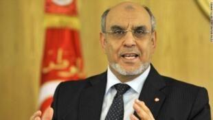 Hamadi Jebali, ex-Premier ministre tunisien et ancien secrétaire général d'Ennahda