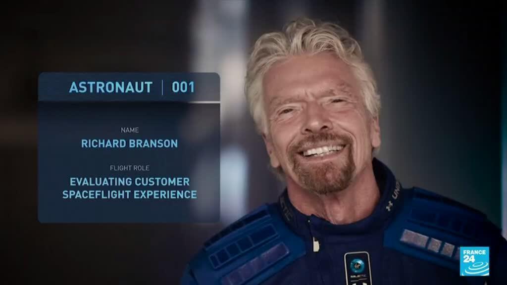 2021-07-02 19:08 Le milliardaire Richard Branson se voit dans l'espace le 11 juillet, avant Jeff Bezos