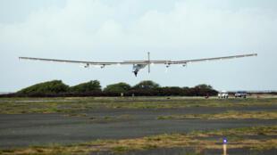 Solar impulse 2 s'est posé vendredi 3 juillet à l'aéroport de Kalaeloa.