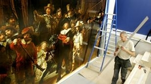 The restoration will be open to the two million people a year who come to the gallery in Amsterdam