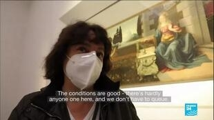 2021-01-25 11:13 Rare Italian museums reopen doors to visitors after long Covid-19 shutdown