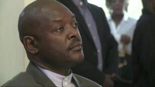 الرئيس البوروندي بيار نكرونزيزا
