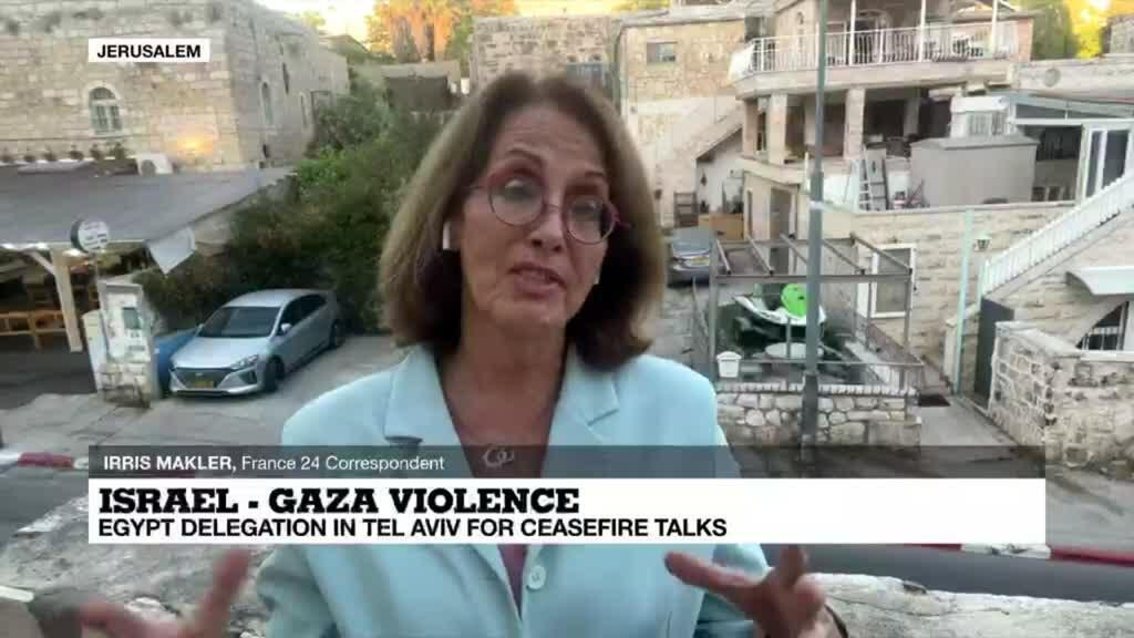 2021-05-13 18:02 Israel-Gaza tensions escalating with 'barrage of rockets fired from Gaza' after new Israeli strikes