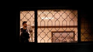 Un experto forense turco trabaja en el consulado de Arabia Saudita en Estambul, el 15 de octubre de 2018.