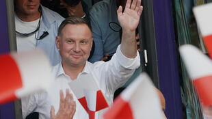 The incumbent Duda won the first round comfortably, but polls suggest the second-round vote will be close