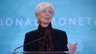La directrice du FMI, Christine Lagarde, le 30 novembre 2015 à Washington.