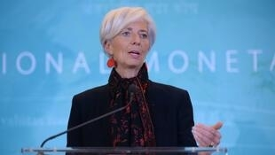La directrice du FMI, Christine Lagarde, le 30 novembre 2015 à Washington.