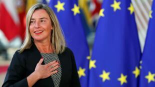 Federica Mogherini presentó un comunicado conjunto con Cecilia Malmström en el que expresan la posibilidad de llevar el caso ante la OMC