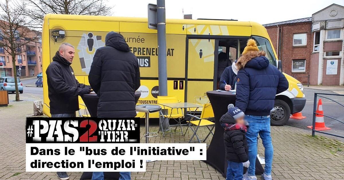 """Dans le """"bus de l'initiative"""" : direction l'emploi"""