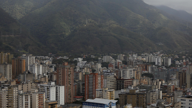 Vista de Caracas, enero de 2018.
