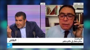 مقطع من حلقة برنامج النقاش