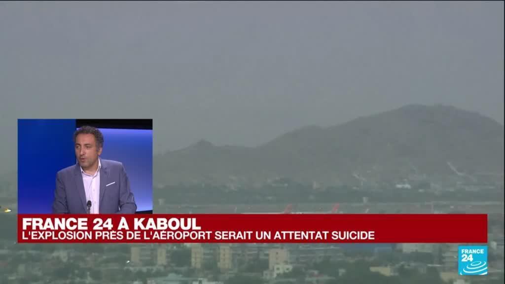 2021-08-26 16:01 France 24 à Kaboul :  le Pentagone confirme une explosion près de l'aéroport de Kaboul