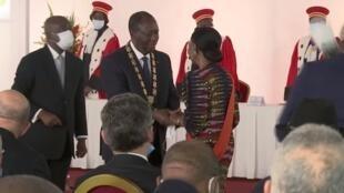 Alassane Ouattara sworn in for third term in office