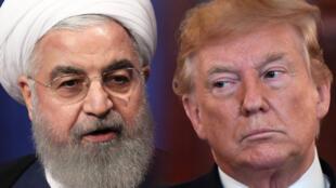 El presidente de Irán, Hassan Rohani y el presidente de Estados Unidos, Donald Trump, volvieron a tener un choque verbal este 25 de junio.