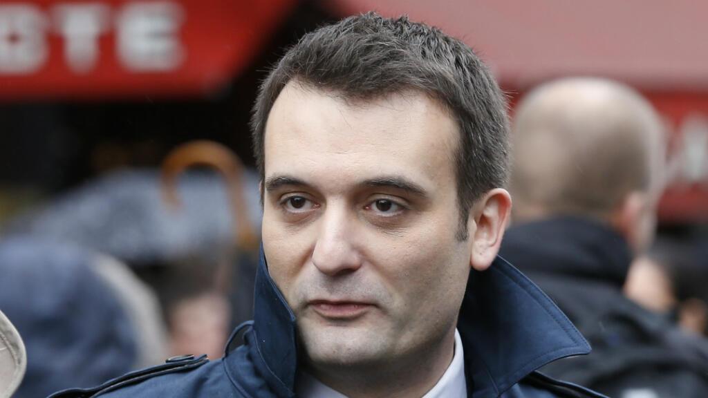 الرجل الثاني في حزب الجبهة الوطنية اليميني المتطرف فلوريان فيليبو