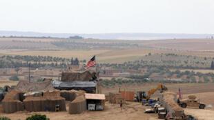 قاعدة عسكرية أمريكية في منبج شمال سوريا