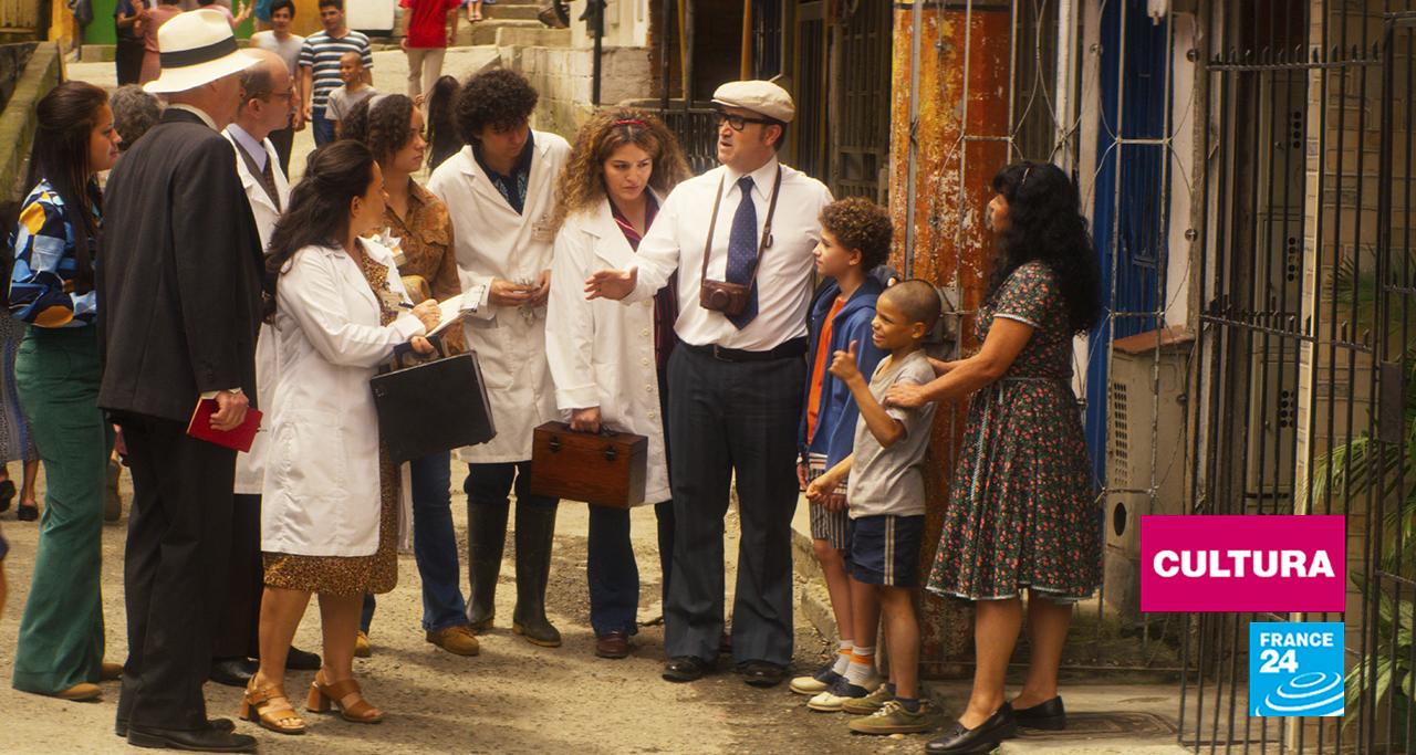 Fotograma del filme, cuyas anécdotas de rodaje se encuentran en la página 'www.caracoltv.com/el-olvido-que-seremos'.