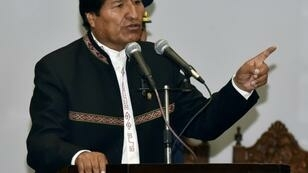 Opposition members are seeking a nationwide protest against Bolivian President Evo Morales' reelection run