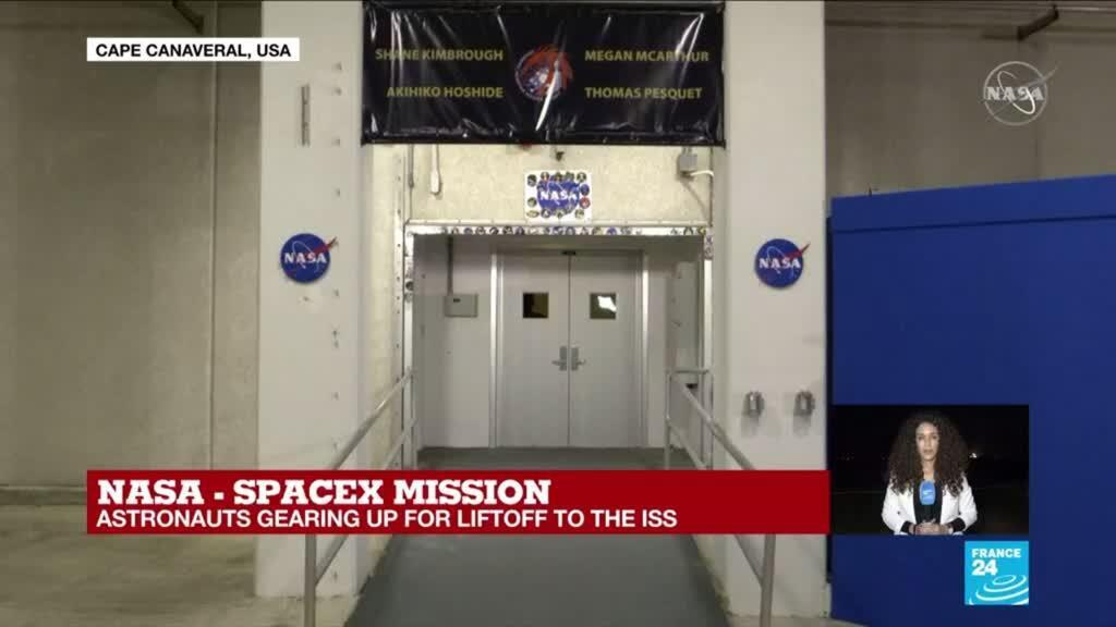 2021-04-23 08:27 SpaceX launch: meet the four astronauts set to blast into space