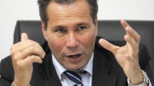 Ex fiscal argentino Alberto Nisman en una conferencia de prensa en la ciudad de Buenos Aires, Argentina, en mayo 20 de 2009.