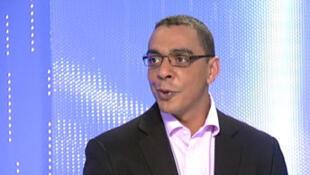 Eric Massi, porte-parole de la Séléka