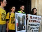 """Urgence climatique : un juge estime """"légitime"""" de décrocher un portrait d'Emmanuel Macron"""