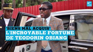 Teodorin Obiang, le 25 juin 2013, à Malabo.