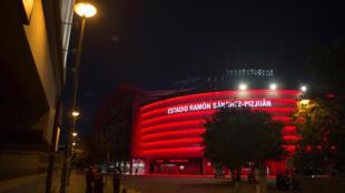 Le stade Ramon Sanchez Pizjuan de Séville, le 11 juin 2020