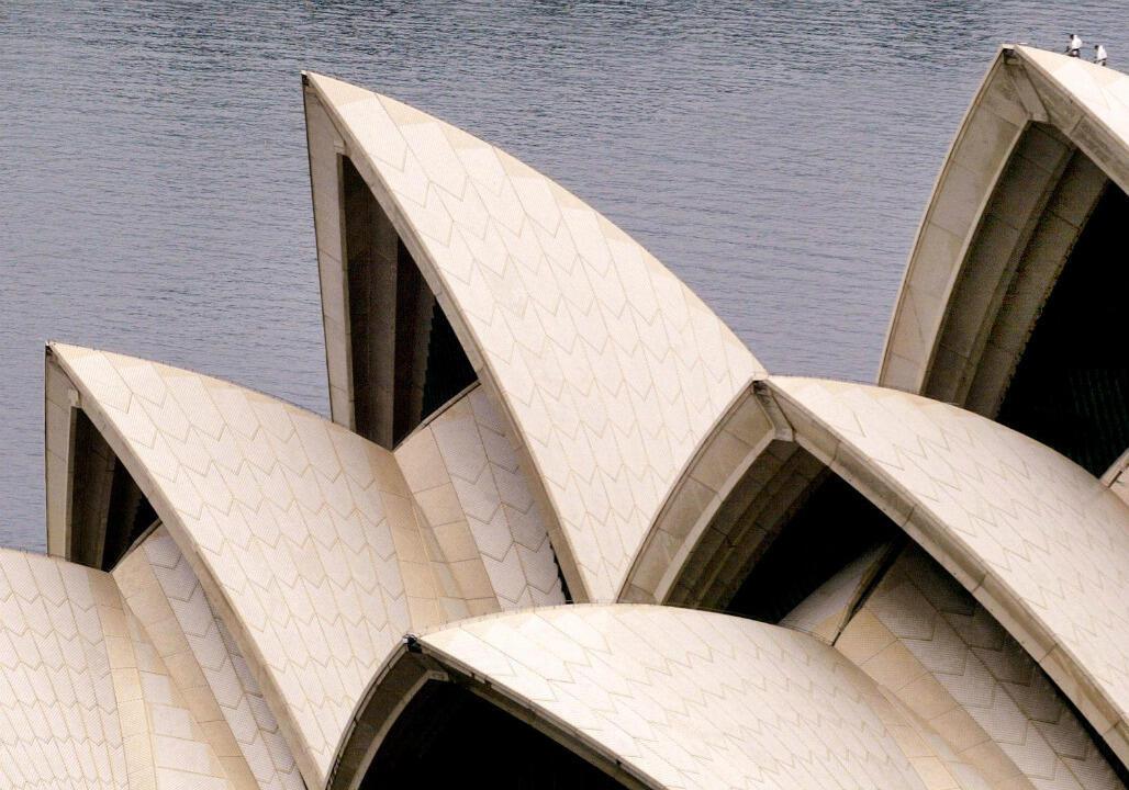 Les arches de l'Opéra de Sydney.