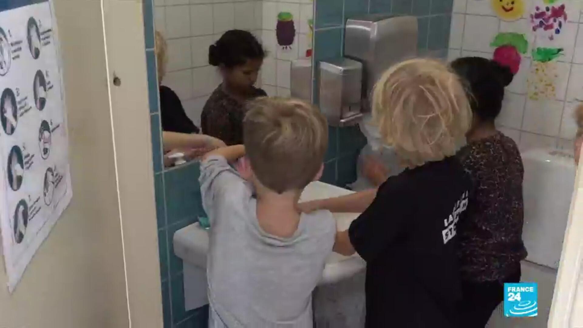Des élèves d'une école suédoise.