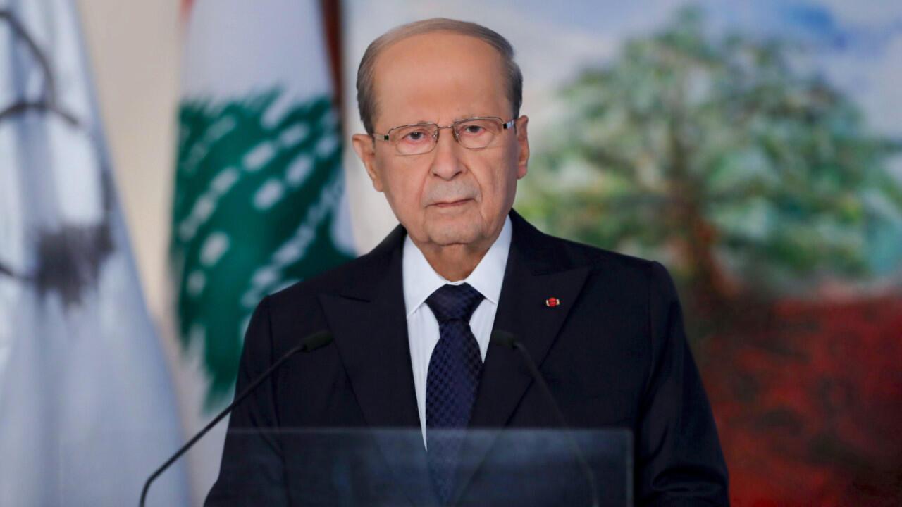 """Le président libanais Michel Aoun a reconnu la nécessité de changer le système politique au Liban et a appelé à proclamer un """"État laïc"""", le 30 août 2020."""