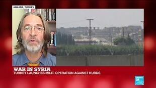 2019-10-09 15:32 Turkey launches military operation against Kurds