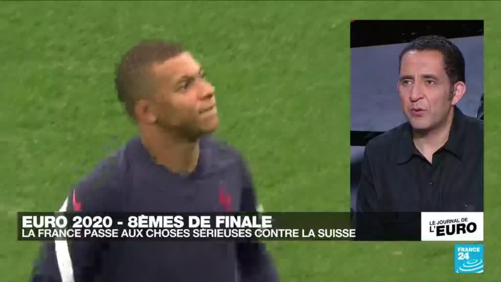 2021-06-27 23:55 Euro 2020 : la France affronte la Suisse en 8e de finale