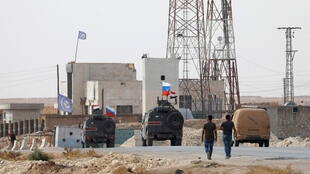 قوات روسية بالقرب من منبج السورية