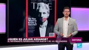 Julian Assange history