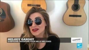La chanteuse américaine Melody Gardot
