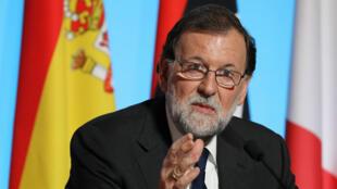 رئيس الوزراء الإسباني ماريانو راخوي