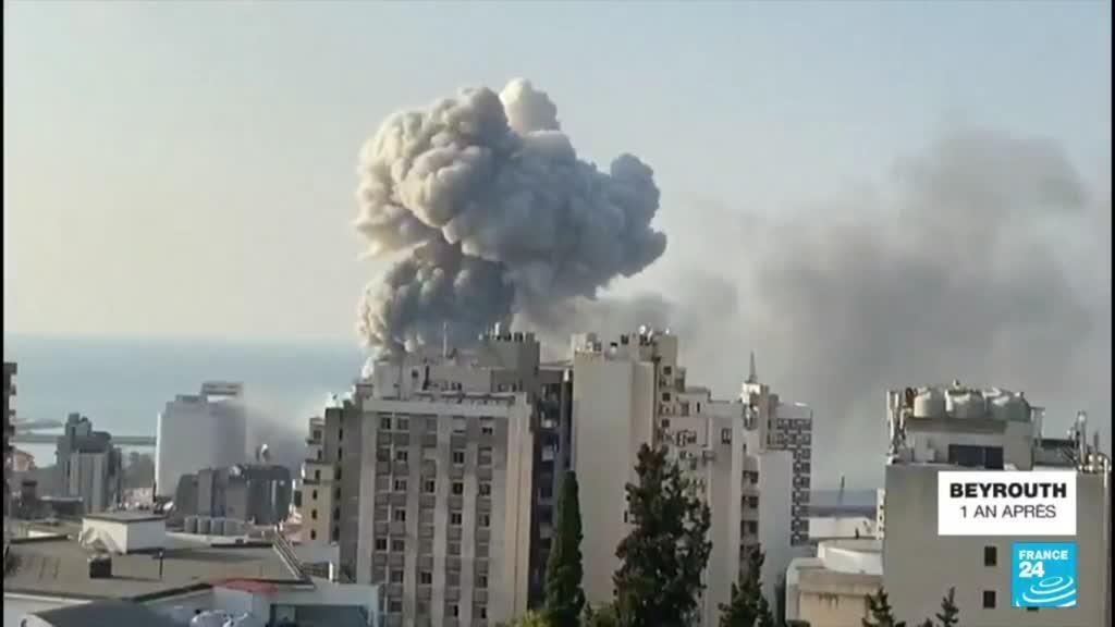 2021-08-04 12:04 Explosion de Beyrouth, un an après : retour en images sur cet événement dramatique