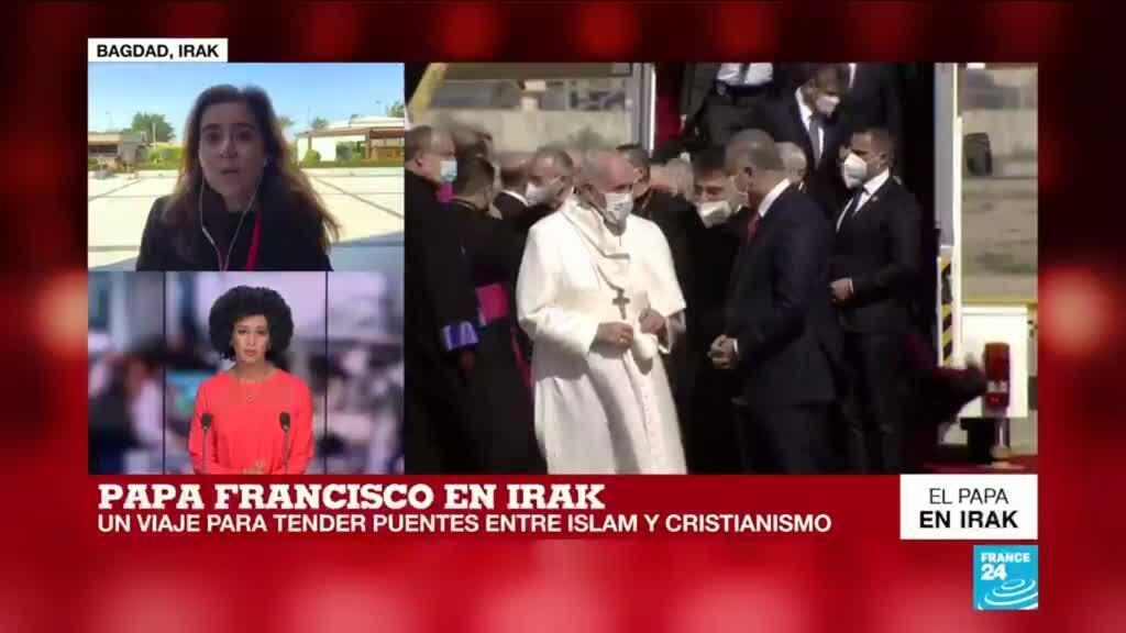 2021-03-05 12:03 Informe desde Bagdad: visita del Papa a Irak pretende extender puentes entre islam y cristianismo