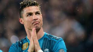 Foto de archivo de Cristiano Ronaldo en un partido con el Real Madrid.