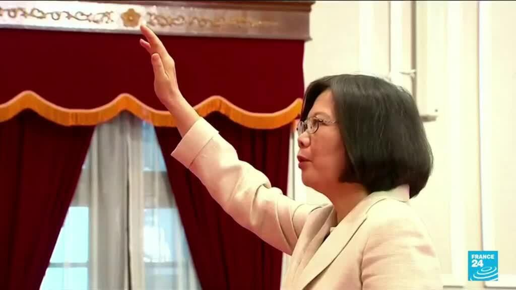 2021-07-01 15:03 China's Xi pledges 'reunification' with Taiwan on party's birthday