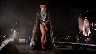 Beyoncé au festival de Coachella, le 14 avril 2018.