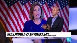 2020-07-02 17:02 World leaders condemn China's Hong Kong security law, US passes sanctions