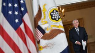 Le secrétaire d'État américain, Rex Tillerson.