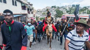 Protesta Haití