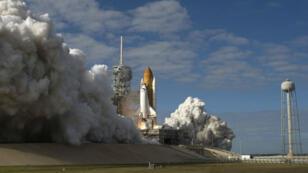 Lancement depuis la base de Cap Canaveral, aux États-Unis, en 2009.
