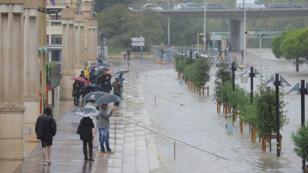 Quelque 300 mm de précipitations se sont abattus sur le chef-lieu de l'Hérault.