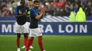 L'attaquant français Nabil Fekir au Stade de France, le 28 mai 2018.