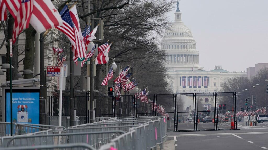 Access to the main areas surrounding the Capitol will be virtually restricted due to the pandemic and security.