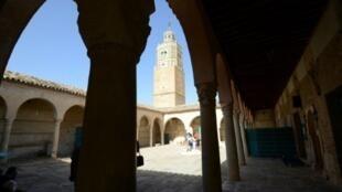 مسجد في تونس في 15 تشرين الأول/أكتوبر 2016